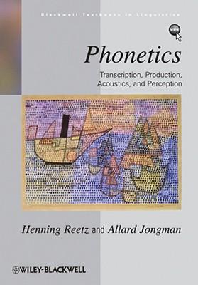 Phonetics By Reetz, Henning
